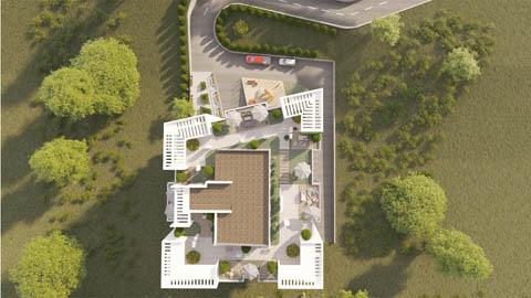 Визуализация Praga House