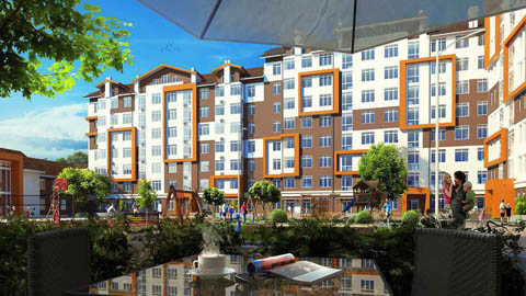 Визуализация Orange Park