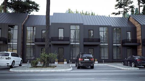 Визуализация Town House