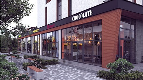 Визуализация Nyvky Plaza