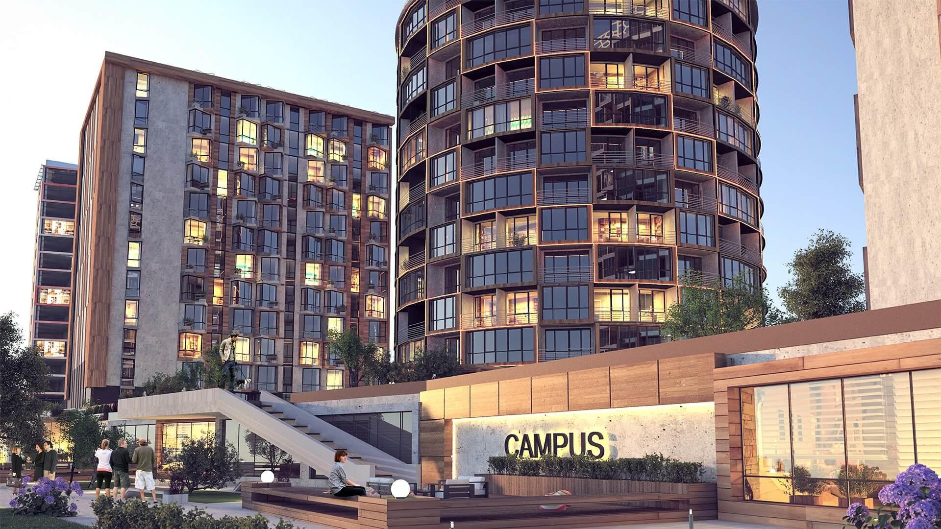 Визуализация Campus