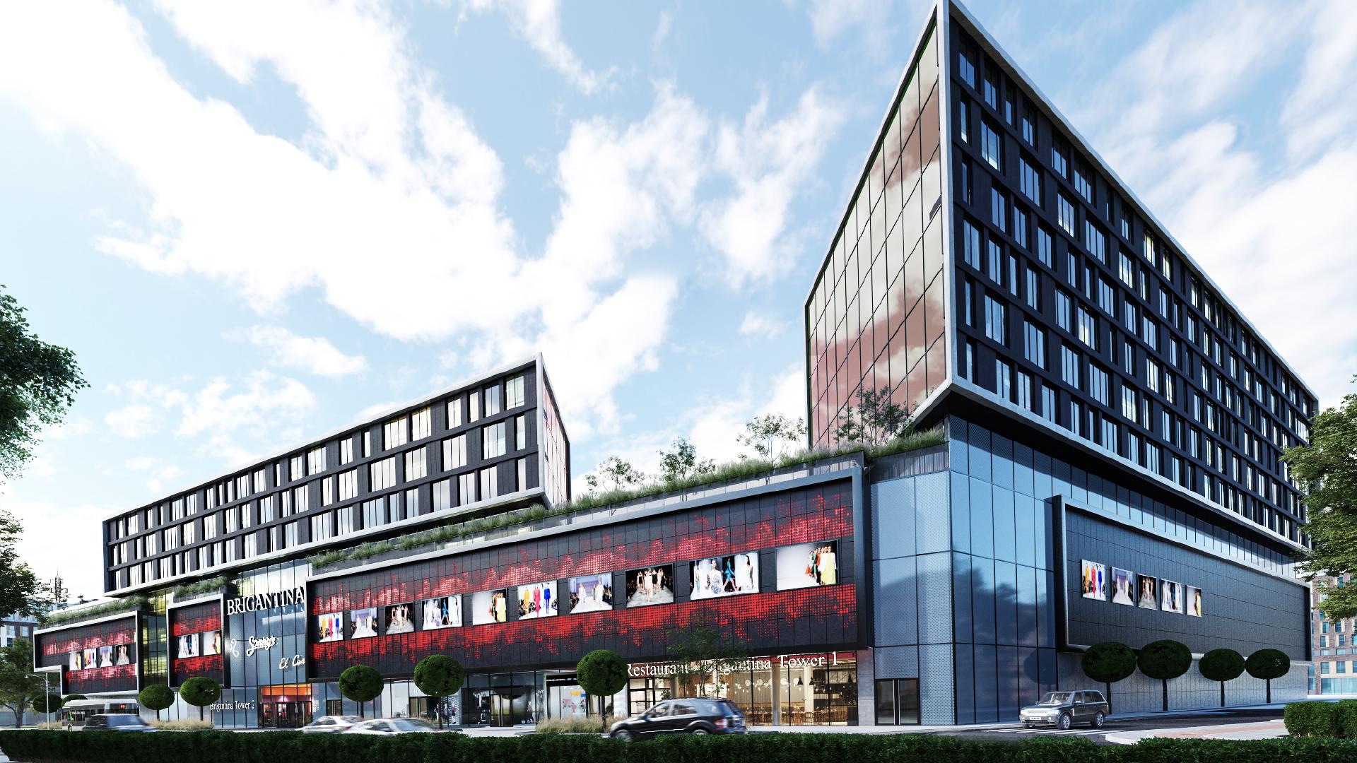 Визуализация Concept Mall B